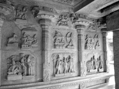 Epics carved on temple walls, Hampi, Karnataka, India #India #travel #Kamalan #culture #photo