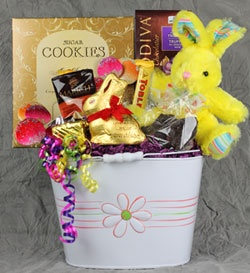 62 best easter basket images on pinterest easter baskets everyone loves some chocolate at easter and this basket has enough to share for everyone negle Gallery