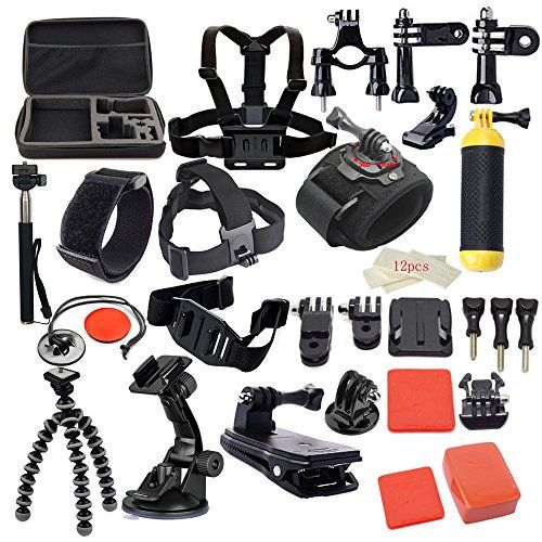 MCOCEAN 42-in-1 Go Pro 4 Accessories Kit for Sports Camera - www.midronepro.co... #FairfieldGrantsWishes