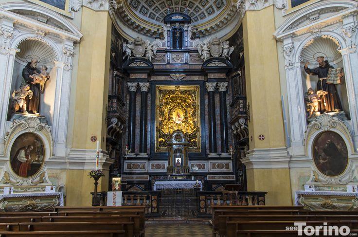 Chiesa Santa Maria al Monte http://www.seetorino.com/monte-dei-cappuccini-la-chiesa/
