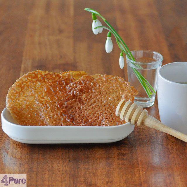 Honing tuiles zijn knapperige koekjes en supersnel klaar. Ze zijn lekker bij een kopje koffie of thee, maar zeker ook bij een bolletje ijs.