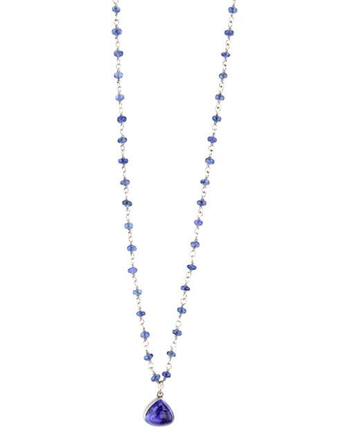 "Mallary Marks ""Sugar Spun"" Sapphire Necklace"