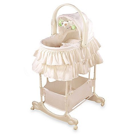 This 5-in-1 Sleep System is a portable sleeper, bassinet, bedside sleeper, play seat and changing table all in one! The ergonomically-designed handle allows you to confidently carry your sleeping baby from room to room.
