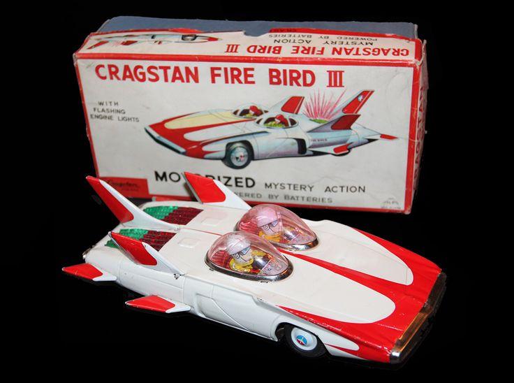 CRAGSTAN FIRE BIRD III Motorized Mistery Action  www.litolatta.it