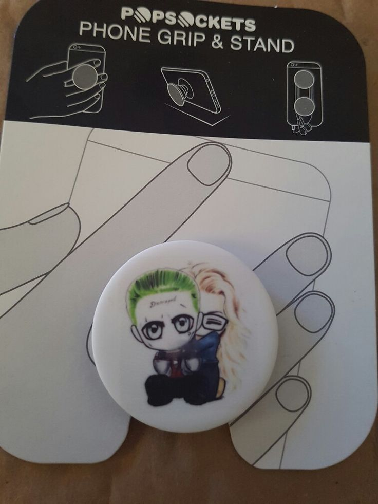 CUSTOM HARLEY QUINN AND JOKER SUICIDE SQUAD POPSOCKET FOR SALE! MESSAGE ME FOR ANY QUESTIONS! PLEASE AND THANKYOU!