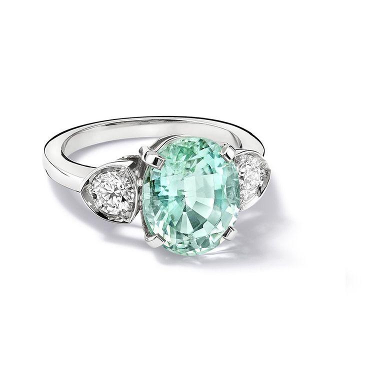 Katie Mint Tourmaline Ring