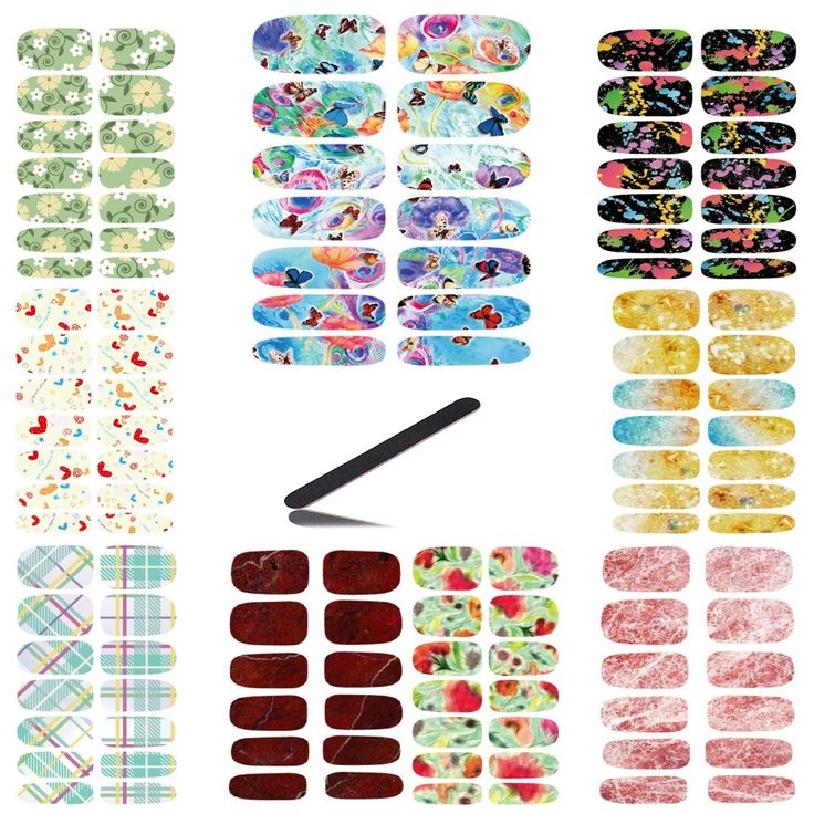 7.50$  Watch here - http://alizr6.shopchina.info/go.php?t=32763935609 - 10pcs Set Water Transfer Foil Nails Sticker Rainbow Butterfly Design Nails Art Manicure Styling Water Film Paper Stickers Decals  #buymethat