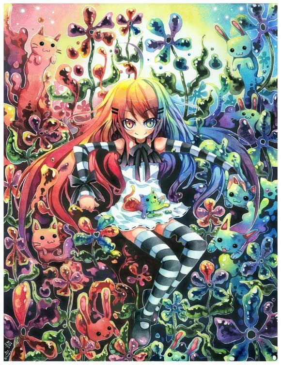 Amazing Examples of Manga and Anime Artwork http://www.graphicmania.net/amazing-examples-of-manga-and-anime-artwork/