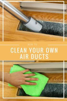 How to clean your own air ducts – I had no idea you can DIY this but now this ho…