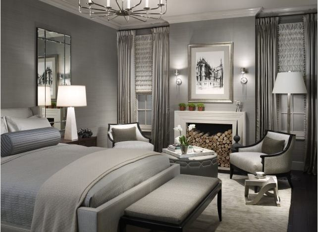 died and gone to master bedroom heaven. Benjamin Moore Gull Wing Gray Benjamin moore gull wing gray More