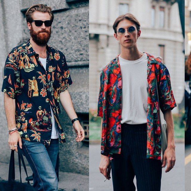 The Shirt Trend Stylish Italian Men Can Agree On | GQ
