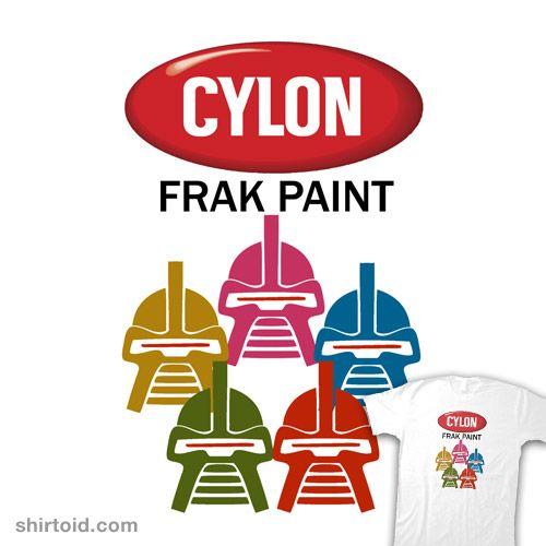 Cylon frak paint