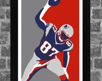 New England Patriots Bill Belichick Portrait Sports by FanFourLife