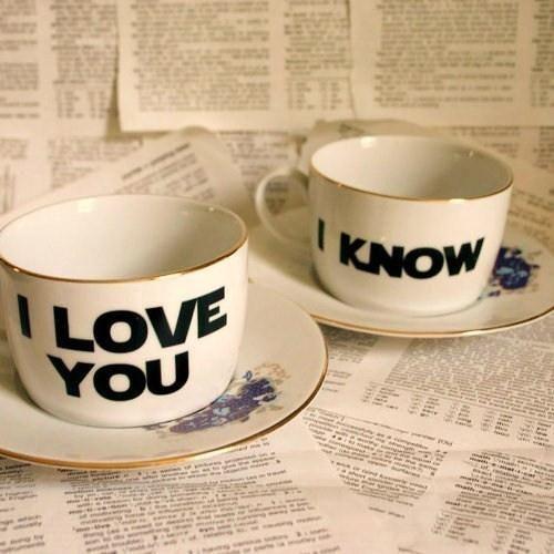 Cute Coffee Mug Set!  I need Star Wars mugs like I need macarons (a lot).