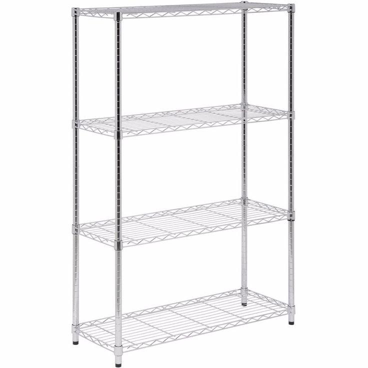 Pantry Storage Shelving Units Small Metal Shelving Unit: 17 Best Ideas About Wire Shelving Units On Pinterest
