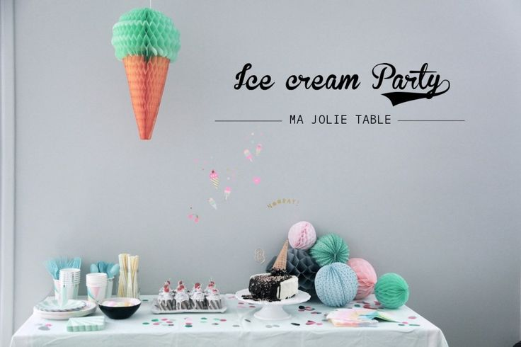 Ice Cream Party ♡ #majolietable | By Little Ones