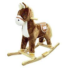 Child Rocking Horse Toy (with Horse Sound)- Brown $50