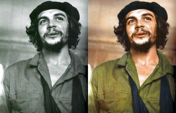 Historic Black and White Photos Colorized - Che Guavara