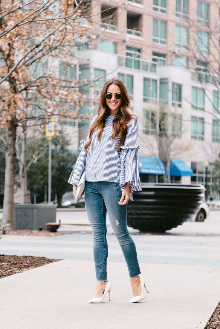 Stripes + Bell Sleeves - A Lo Profile