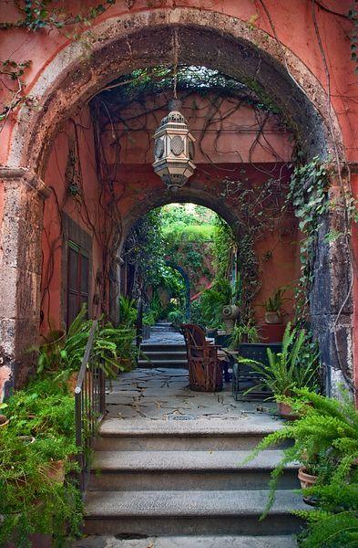 Casa Luna Arches....San Miguel Allende Capture the authentic Mexican spirit at http://LaFuente.com