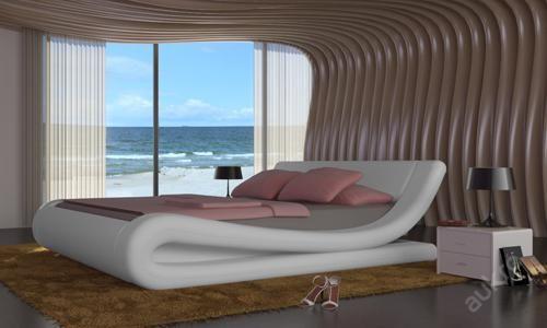 ERGO moderní manželská postel 140x200 s rostem (6667513319) - Aukro - největší obchodní portál