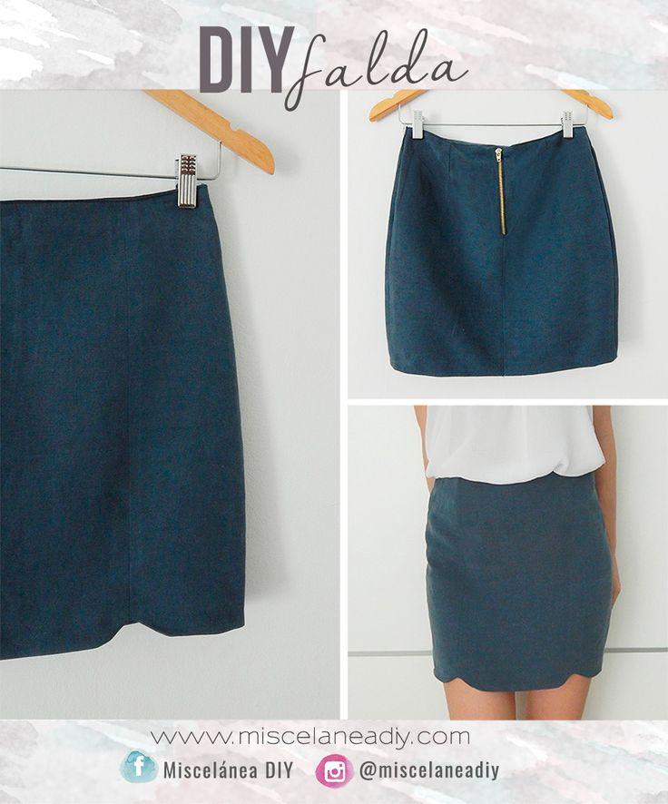 Patrones de costura mini falda