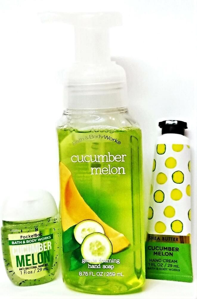 Bath Body Works Cucumber Melon Foaming Hand Soap Hand Cream