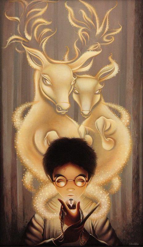 40 Excelentes ilustraciones de Harry Potter <3