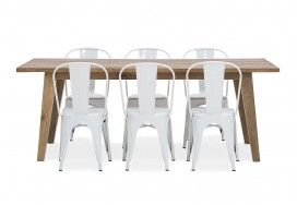 Jetty 2100 Dining Table | Super A-Mart $999 (use the chairs for outdoor table)