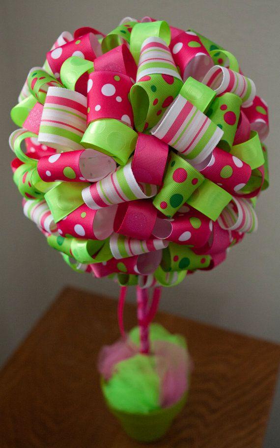 Ribbon Topiary