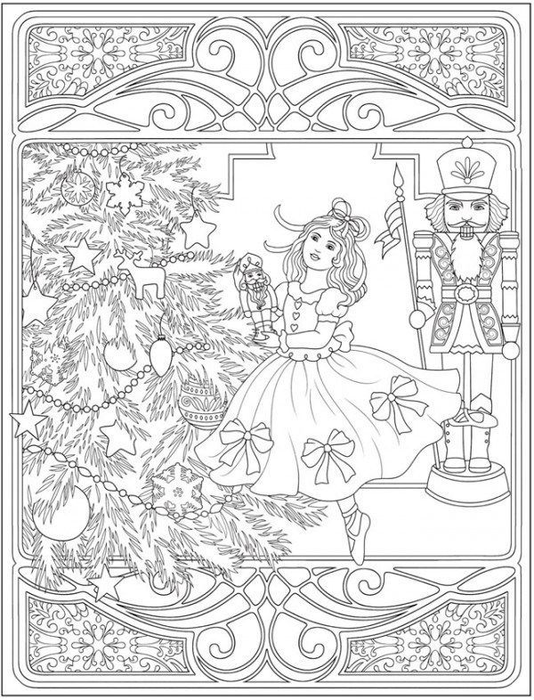 5 Nutcracker Coloring Pages Dance Coloring Pages Christmas Coloring Pages Nutcracker Crafts