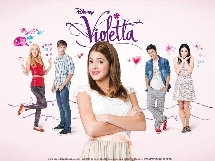 Ideas y material gratis para fiestas y celebraciones Oh My Fiesta!: Invitaciones de Violetta para imprimir gratis.