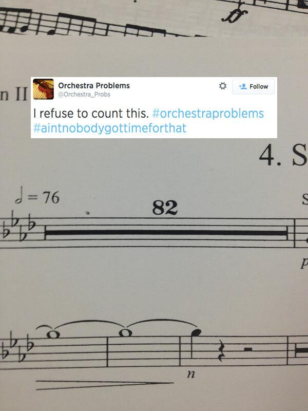 25 Problems Only People Who Have Played In A School Orchestra Will Understand