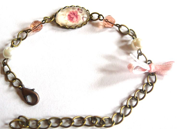 Antique bronze bracelet