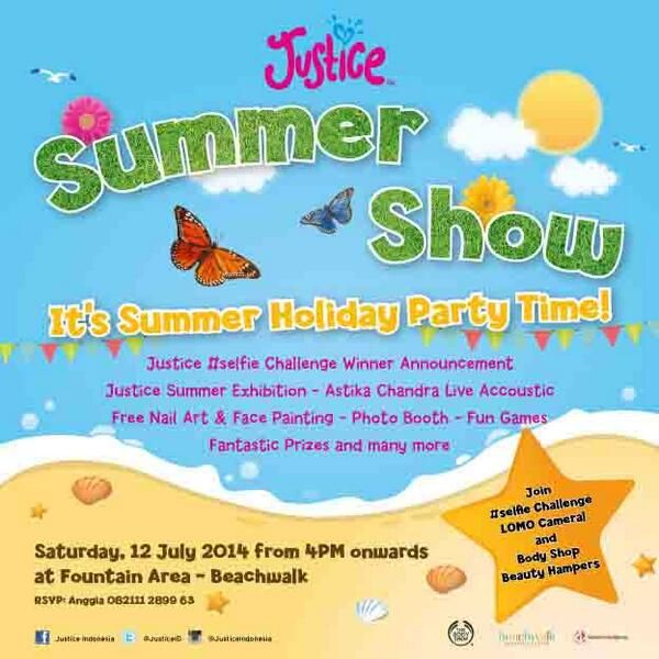 Justice Summer Show, 12 July 2014 at Beachwalk