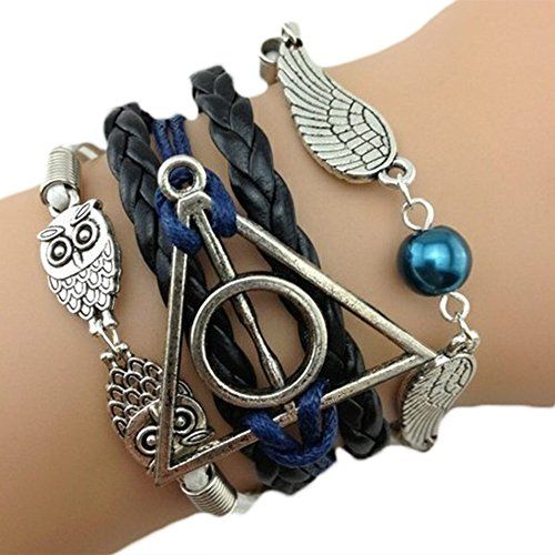 infinity bijoux pulsera infinito harry potter b hos. Black Bedroom Furniture Sets. Home Design Ideas