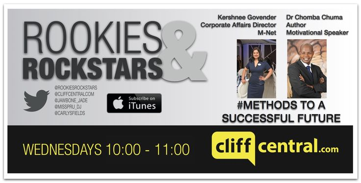 Dr Chomba Chuma on @rookiesrokstars on Cliffcentral Listen to the exclusive interview here!