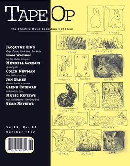 Tape Op Magazine is a bi-monthly publication.... articles have covered producers, engineers and musicians with gear reviews and more. Tape Op's focus has been on creativity and inspiration, rather than simple discussions of recording equipment. http://tapeop.com: Geek, Magazine Covers, Favorite Records, Creative Music, Records Magazines, Favorite Covers, Tapeop Magazines, Covers Music, Magazines Covers