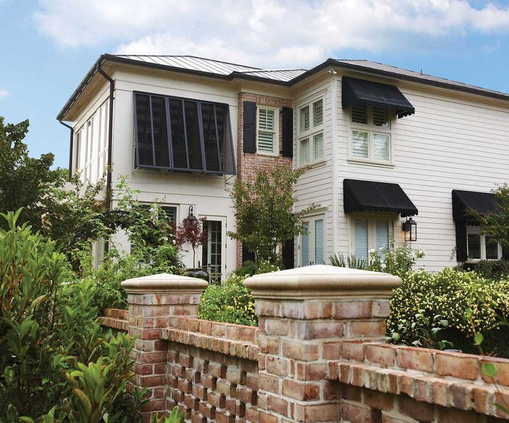 Operable Bahama Composite Color Black In 2019 House