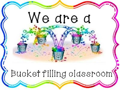 Have you filled a bucket today?   I am not sure about you, but I have done this for 3 years now and LOVE it :-)