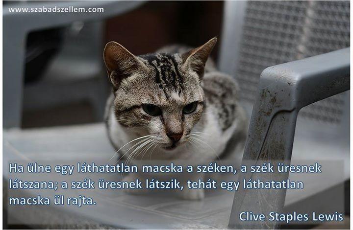 Clive Staples Lewis gondolata a téves következtetésekről. A kép forrása: Szabad Szellem # Facebook
