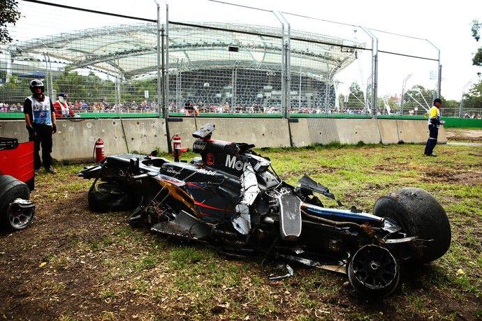 McLaren Fernando Alonso GP da Austrália 2016 (Foto: Getty Images)
