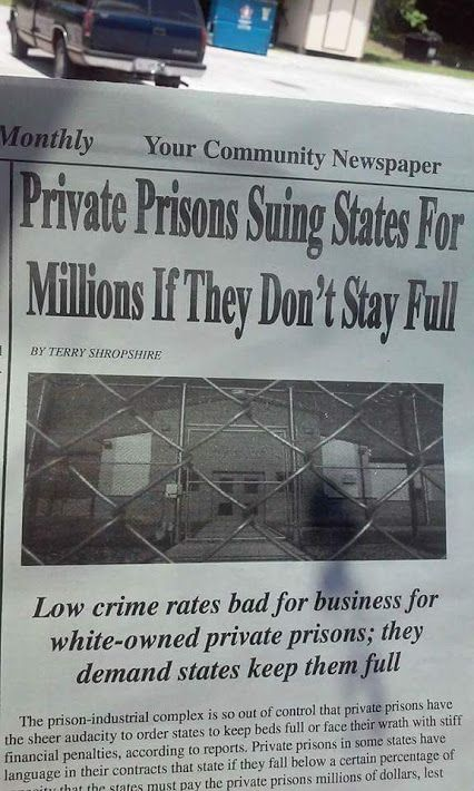 Rich Corporate Moochers... re: AG Sessions and other Corrupt Politicians own Stock in Privatized Prisons!!