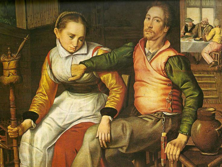 the country lovers pieter aertsen 1508