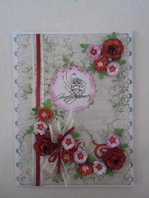Přání na přání: Přání s dominantními červenými květy