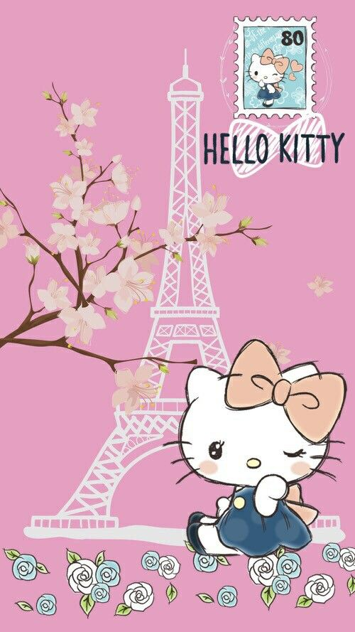 Hello Kitty #EiffelTower (((o(*゚▽゚*)o)))
