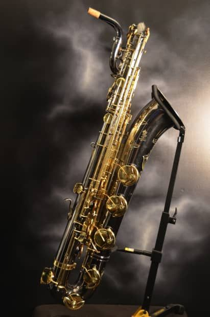 Julius Keilwerth SX-90 Eb Baritone Saxophone.  It was made Germany