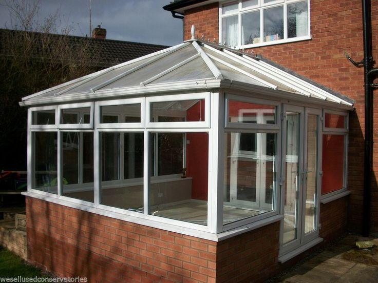 Used Pvcu Large White Upvc Conservatory 4110 mm x 4090 mm