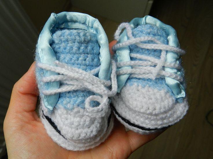 Mini-trampeczki dla chłopczyka