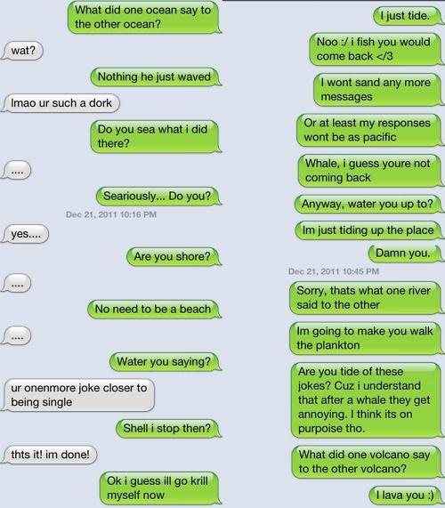 i love bad jokes and puns